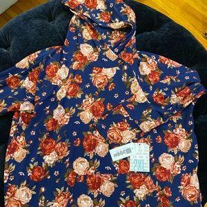 Lularoe Floral Amber 2XL